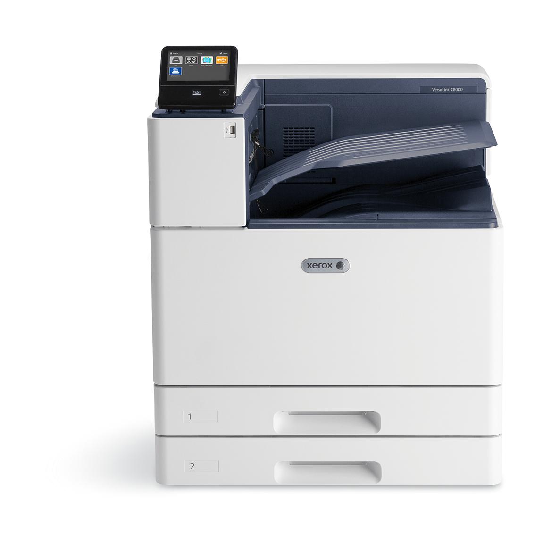 Xerox VersaLink C8000 A3 45/45 Ppm Duplex Printer Adobe Ps3 Pcl5E/6 3 Trays Total 1140 Sheets