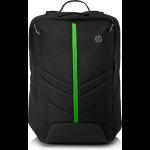 HP Pavilion Gaming 500 backpack Black/Green 6EU58AA#ABB