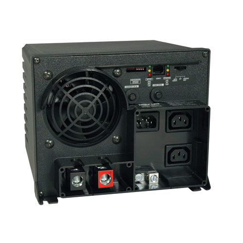 Tripp Lite PowerVerter APS X 1250W 12VDC 230V Inverter/Charger with Auto-Transfer Switching, 2-C13 Outlets