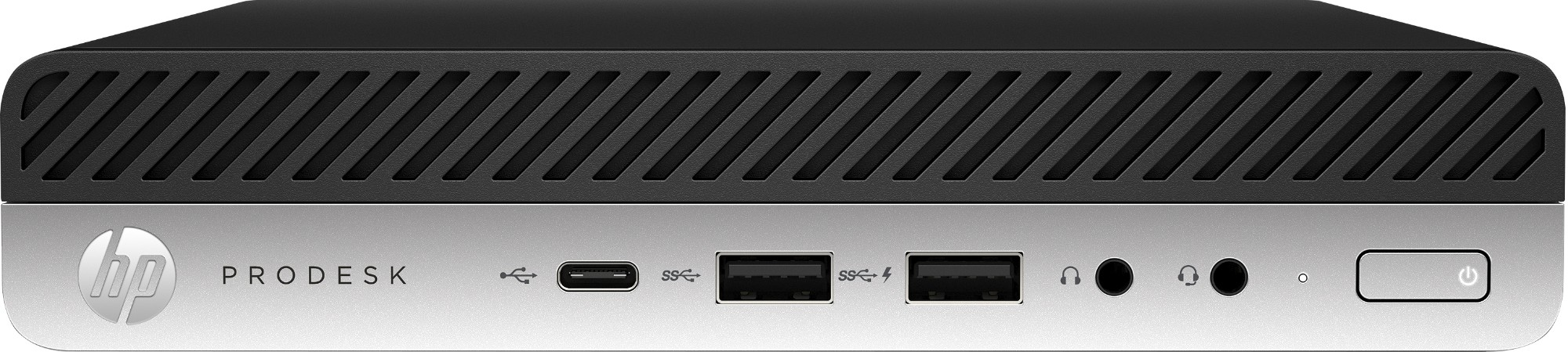 HP ProDesk 600 G5 9na generación de procesadores Intel® Core™ i5 i5-9500T 8 GB DDR4-SDRAM 256 GB SSD mini PC Negro Windows 10 Pro