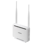 Edimax AR-7286WnA Gigabit Ethernet White wireless router
