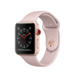 Apple Watch Series 3 smartwatch Gold OLED Cellular GPS (satellite)