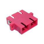 Cablenet OM4 SC Duplex Adaptor Erika Violet