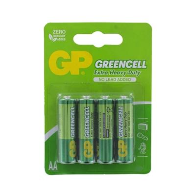 GP Batteries GP Greencell Zinc Pack of 4 AA Batteries