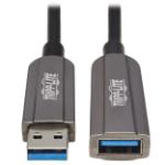 "Tripp Lite U330F-50M-G1 USB cable 1968.5"" (50 m) USB 3.2 Gen 1 (3.1 Gen 1) USB A Black, Gray"