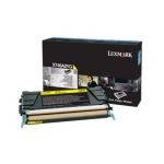 Lexmark X746A3YG Toner yellow, 7K pages
