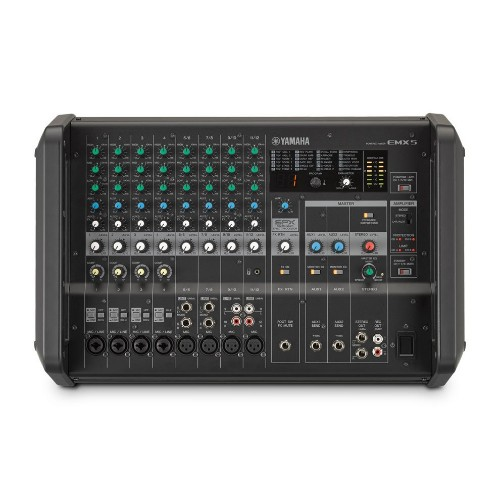 Yamaha EMX5 12channels Black audio mixer