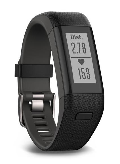 Garmin vívosmart HR+ Wireless Wristband activity tracker Black