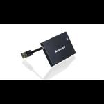 iogear GSR203 smart card reader USB 2.0 Black