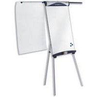 Nobo Classic Steel Tripod Magnetic Flipchart Easel with Extending Arms
