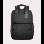 Tucano Super backpack Casual backpack Black Fabric