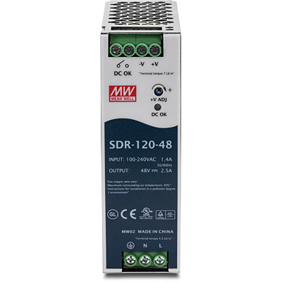 Trendnet TI-S12048 v1.0R network switch component Power supply