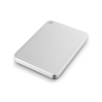 Toshiba Canvio Premium 2TB external hard drive 2000 GB Metallic, Silver