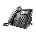 Polycom VVX 310 IP phone Black Wired handset LCD 6 lines
