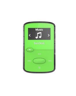 Sandisk SDMX26-008G-G46G reproductor MP3/MP4 Reproductor de MP3 Verde 8 GB