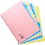 Elba 400008300 Cardboard Multicolour 50pc(s) divider