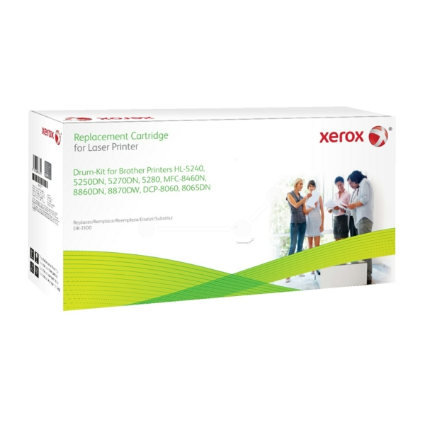 Xerox 003R99767 compatible Drum kit, 25K pages @ 5 coverage replaces Brother DR3100