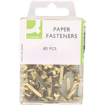 Q-CONNECT Q CONNECT PAPER FASTENER 17MM PK80