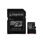 Kingston Technology Canvas Select memory card 64 GB MicroSDXC Class 10 UHS-I