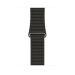 Apple MQV62ZM/A Band Charcoal, Grey Leather