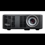 Optoma ML750E videoproyector 700 lúmenes ANSI DLP WXGA (1280x720) 3D Proyector portátil Negro