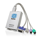 Raritan Dominion KX II-101 V2 KVM switch Grey
