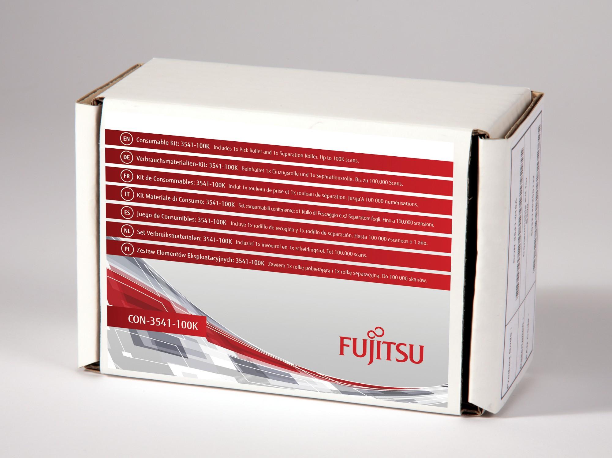 FUJITSU 3541-100K CONSUMABLE KIT SCANNER