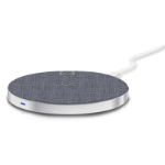 ALOGIC Wireless Charging Pad - Silver - 10W - Includes USB-A to USB-C Cable