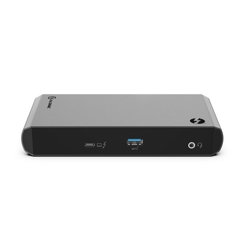 ALOGIC TB3DTRG2 notebook dock/port replicator Wired USB 3.2 Gen 2 (3.1 Gen 2) Type-C Black,Grey