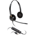 Plantronics EncorePro HW525 Binaural Head-band Black headset