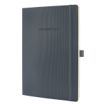 Sigel Conceptum A4 194sheets Grey writing notebook