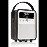 ViewQwest Monty radio Personal Analog & Digital Black,White