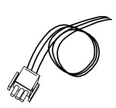 Datamax O'Neil 501139 cable de alimentación interna