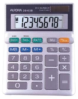 Aurora DB453B calculator Desktop Financial Grey