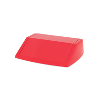 ADDIS 60L FLIPTOP BIN LID RED