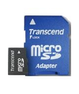 Transcend 1 GB microSD Memory Card 1GB MicroSD memory card
