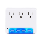 CyberPower P3WUN surge protector 3 AC outlet(s) 125 V White