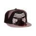 Star Wars VII The Force Awakens Kylo Ren Mask Snapback Baseball Cap, Black/Grey (CD100STW-CP)