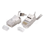 Cablenet 22-2096 wire connector RJ-45 Silver, Transparent