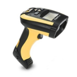 Datalogic PowerScan 9501 Handheld bar code reader 1D/2D Laser Black,Yellow