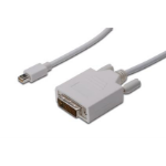ASSMANN Electronic AK-340305-030-W video kabel adapter 3 m mini DisplayPort DVI-D Wit