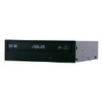 ASUS DRW-24B1ST/BLK/B/AS Internal DVD±RW Black optical disc drive