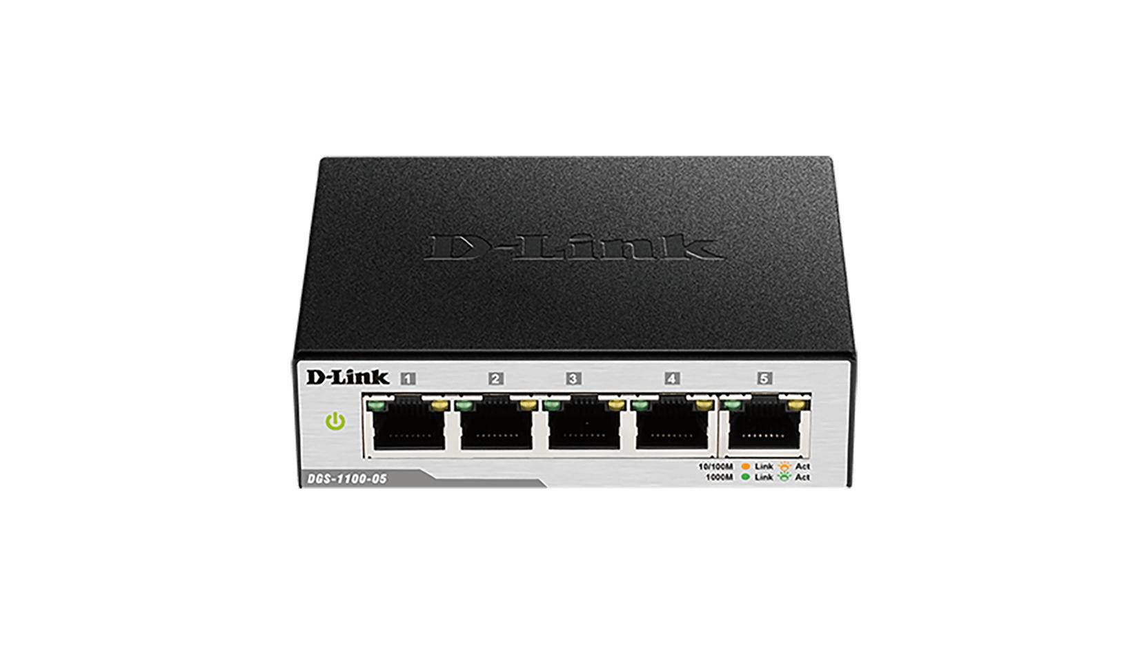 D-Link EasySmart Gestionado L2 Gigabit Ethernet (10/100/1000) Negro