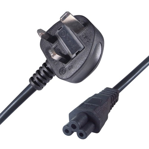 Connekt Gear 27-0114B power cable Black 2 m Power plug type G C5 coupler