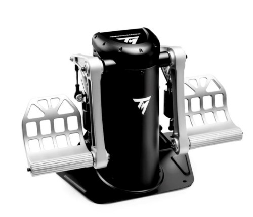 Thrustmaster TPR Rudder Flight Sim PC Analogue USB Black, Silver