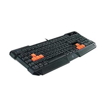 ROSEWILL Gaming Keyboard, 8 Swappable Gaming Keys RK-8000 PC / Black