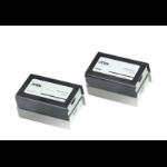ATEN VE800A-AT-E AV extender AV transmitter & receiver Black