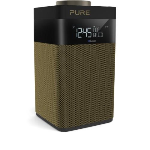 Pure Pop Midi S Portable Digital Black, Gold radio
