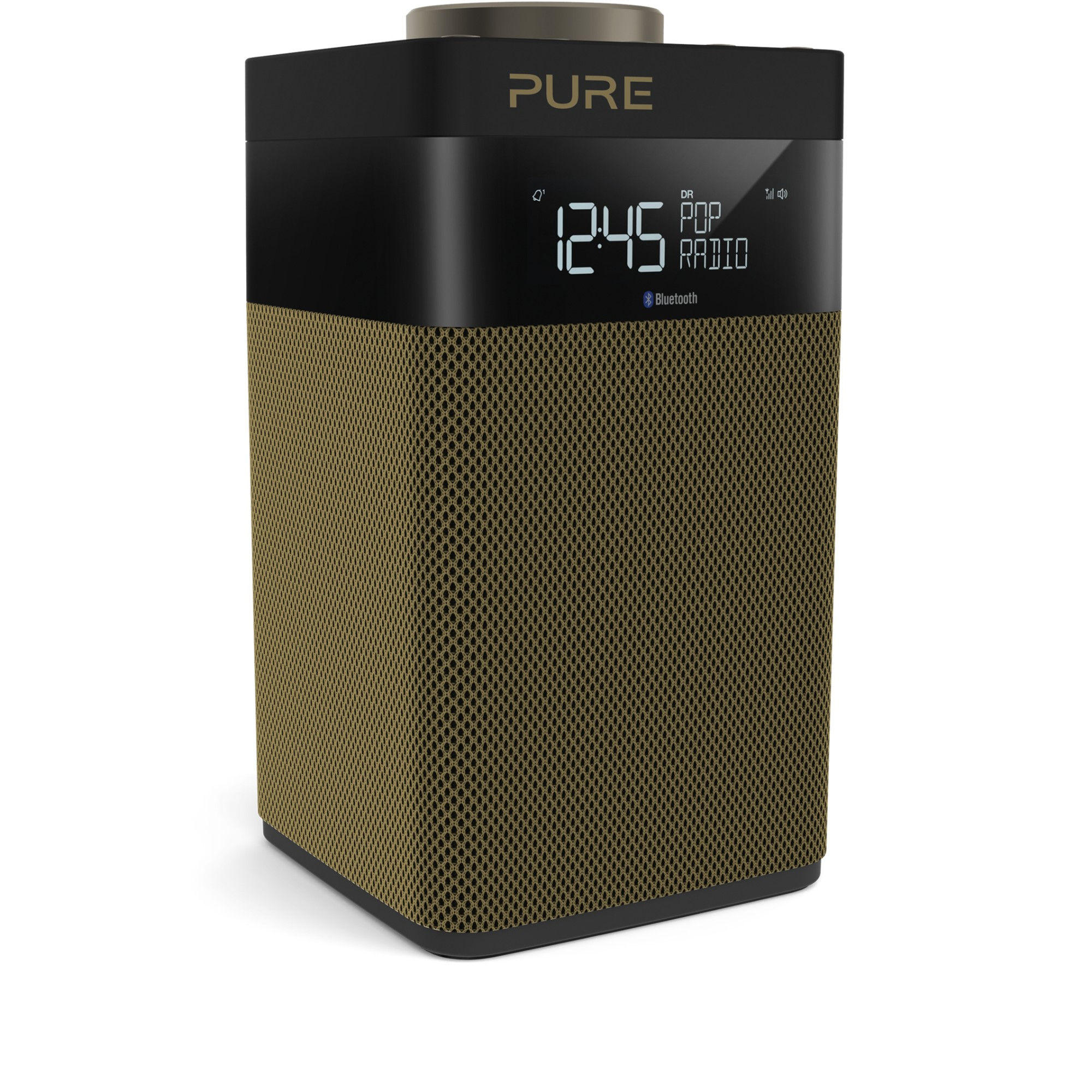 Pure Pop Midi S Portable Digital Black, Gold radio