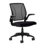 Humanscale Different World Padded seat Meshed backrest office/computer chair